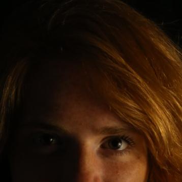 """""""Mes cheveux sont roux et mes yeux verts, bordés de brun, comme les feuilles de chêne en début d'automne."""""""