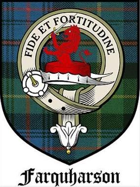 les emblèmes du clan Farquharson