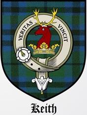 les emblèmes du clan Keith